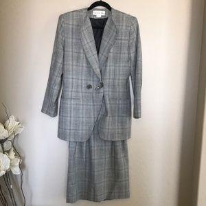 Dior Jackets & Coats - Christian Dior 3 pieces blazer skirt pants suit 4